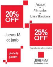 Promoción 20%OFF / 25%OFF