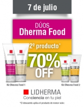 ¡Dherma Food, 2° producto 70% OFF!