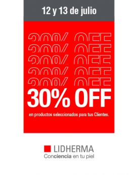 Promo Cremas 30% OFF